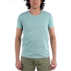 Scotch & Soda - Mens Double Layer Crewneck T-Shirt