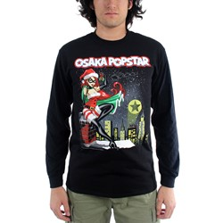 Osaka Popstar - Mens Super Hero Xmas Long Sleeve Shirt