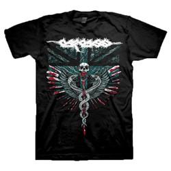 Carcass - Mens Medical Snakes T-Shirt