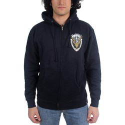 Rebel8 - Mens Worldwide Domination Zip-Up Hoodie