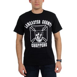 Price Busters - Mens Lancaster County Choppers Maltese Cross T-Shirt