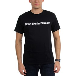 In Flames - Mens Don'T Like In Flames? Eat A Bag Of Shit T-Shirt