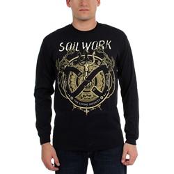 Soilwork - Mens The Living Infinite Tour Dates Long Sleeve Shirt