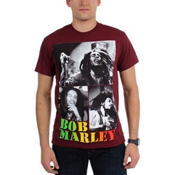 Bob Marley - Mens Collage T-Shirt