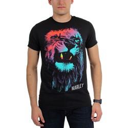Bob Marley - Mens Colored Lion T-Shirt