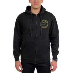 Eminem - Mens Detroit Seal Zip-Up Hoodie