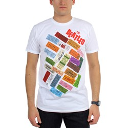 Beatles, The - Mens Tickets Stacked T-Shirt