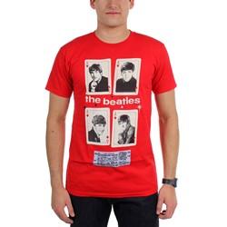 Beatles, The - Mens Vegas Cards T-Shirt