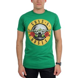 Guns n Roses - Mens St. Patricks Bullet T-Shirt