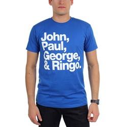 Beatles, The - Mens John Paul George Ringo T-Shirt