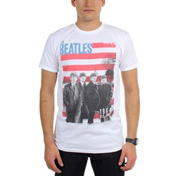 Beatles, The - Mens Star Spangled Photo T-Shirt