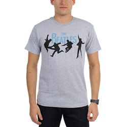 Beatles, The - Mens Beatles Mid Air Blue T-Shirt