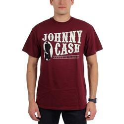 Johnny Cash - Mens Logo T-Shirt