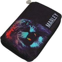 Bob Marley - Neon Lion Zip Around Wallet