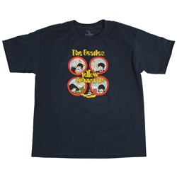 Beatles, The - Youth Yellow Sub Hand Waves T-Shirt