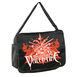 Bullet For My Valentine - Sword Burst Messenger Bag In Black