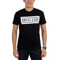 Dress Code - Standard Issue Fitted T-shirt in Black