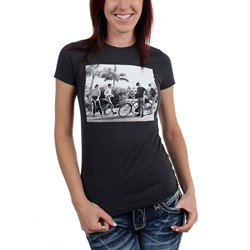 Beatles, The - Womens Bicycle Group Shot T-Shirt