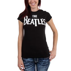 Beatles, The - Womens Logo T-Shirt