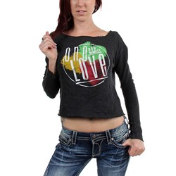 Catch A Fire - Womens One Love Fleece Dolman