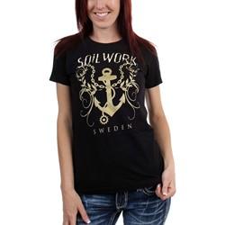 Soilwork - Womens The Living Infinite Anchor T-Shirt
