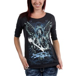 Jimi Hendrix - Womens Hendrix Got Wings T-Shirt