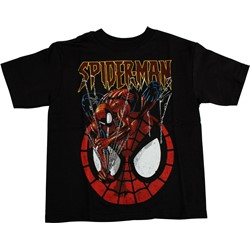 Spider-Man - Juvy  Climb Down  T-Shirt