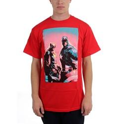 Marvel Comics - Mens  Captain Wolverine  T-Shirt