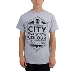 City And Colour - Mens  Crest  T-Shirt