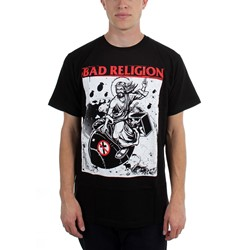Bad Religion - Mens  Atomic Jesus  T-Shirt