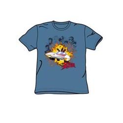 Speed Racer - Blasting The Bad Guys Little Boys T-Shirt In Slate