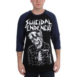 Metal Mulisha - Mens Smash It Raglan Long Sleeve Shirt