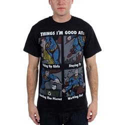 Superman - Mens  Good At  T-Shirt