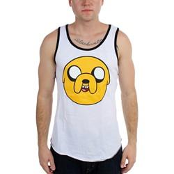 Adventure Time - Mens  Jake Face  Tank Top
