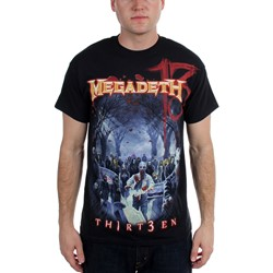 Megadeth - Mens Zombie Group T-shirt in Black