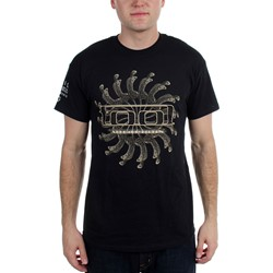 Tool - Spectre Spiral Vicarious Guys T-shirt in Black
