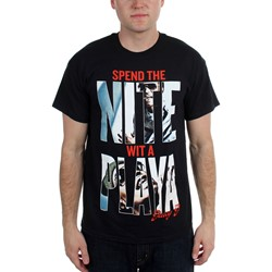 Juicy J - Mens  Spend The Nite  T-Shirt