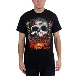 Insane Clown Posse - Mens  Dark Carnival Skull  T-Shirt