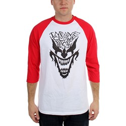 Insane Clown Posse - Mens  Face Raglan  Raglan