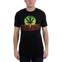 Sublime - Mens  Pot Leaf Circle Logo Soft  T-Shirt