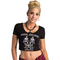 Metal Mulisha - Womens Good Vs Evil T-Shirt