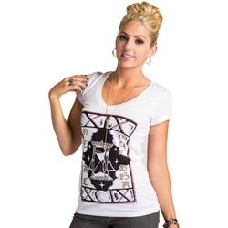 Metal Mulisha - Womens Destiny V-Neck T-Shirt