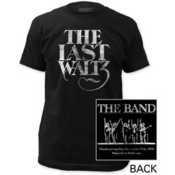 The Band - Mens The Last Waltz Fitted T-Shirt