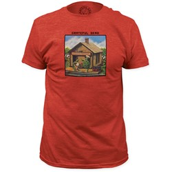 Grateful Dead - Mens Terrapin Station Fitted T-Shirt