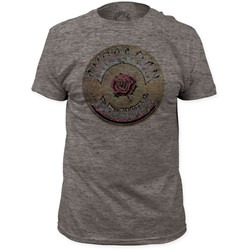 Grateful Dead - Mens American Beauty Tri-Blend Fitted T-Shirt