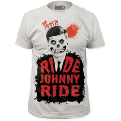Misfits, The - Mens Misfits Ride Johnny Ride Fitted T-Shirt