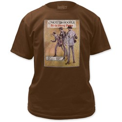 Mott the Hoople - Mens All The Young Dudes Vintage Wash T-Shirt