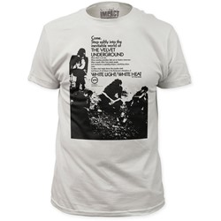 Velvet Underground - Mens Come. Step Softly Fitted T-Shirt