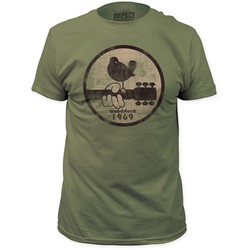 Woodstock - Mens 1969 Fitted T-Shirt