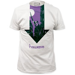 Marvel Comics - Mens Hawkeye Six Nights… Fitted T-Shirt